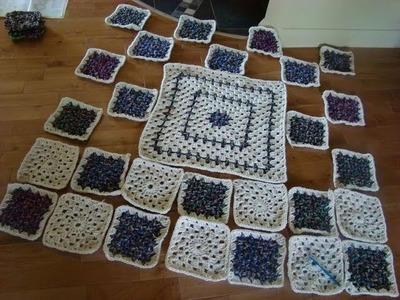 How To Crochet Zig Zag Granny Square Attaching