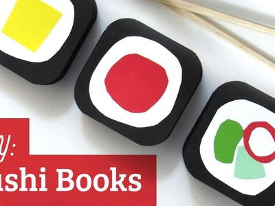 How to Make a Book: Sushi Books
