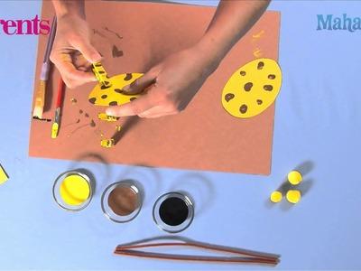 How to Make a Clothespin Giraffe