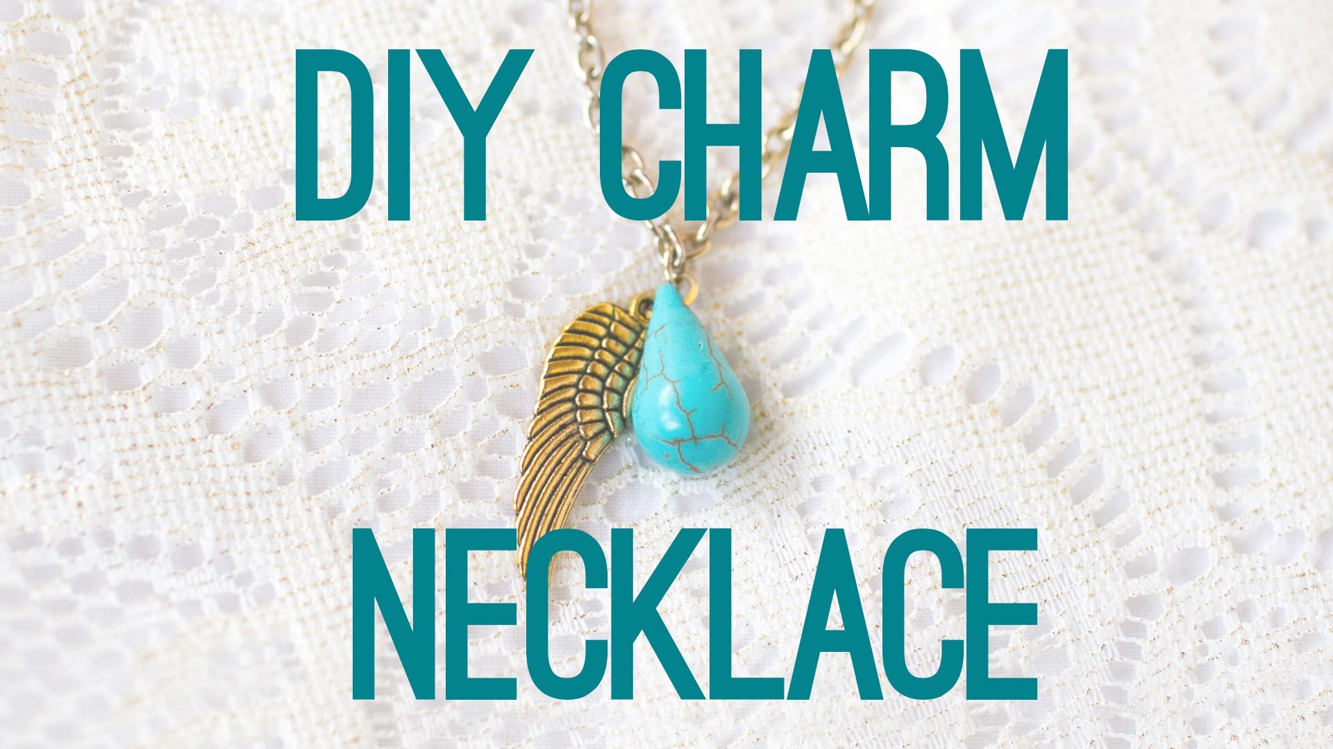 How To Make A DIY Charm Necklace
