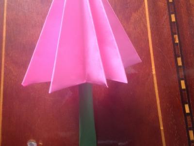 How to Make A Paper Umbrella