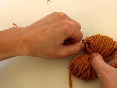 How to make a Pom-Pom using your hand