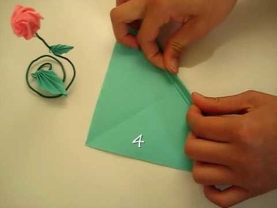 How to make an origami leaf- something different