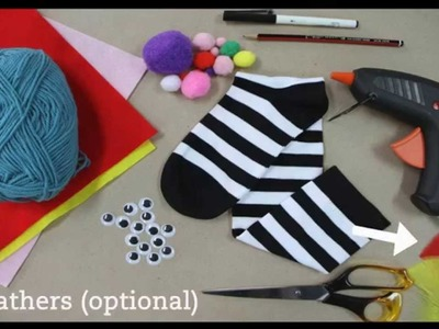 How To Make Animal Sock Puppets