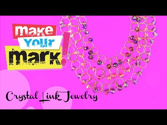 How to: Make Crystal Link Jewelry
