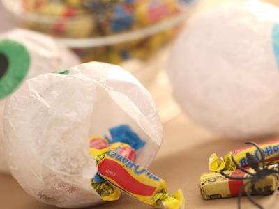 How to Make Halloween Treat Eyeballs || Kin Parents