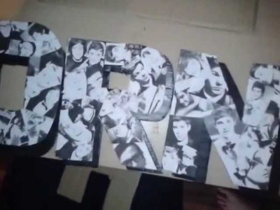 How to;One Direction Crafts