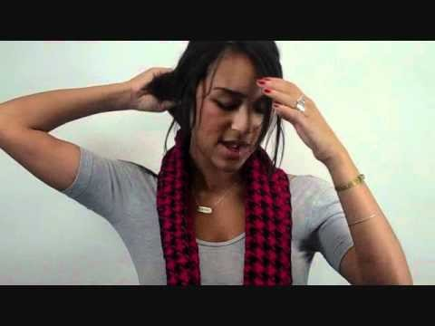 How to Tie a Scarf: Double Loop