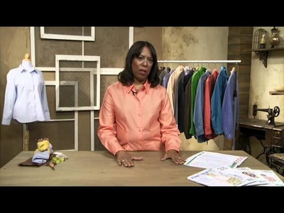 Introduction: The Classic Tailored Shirt with Pam Howard on Craftsy.com