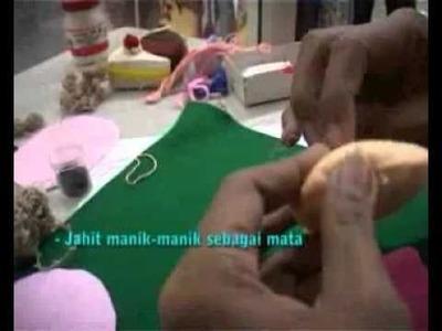 Kreasiku Craft Corner - Felt Mini Doll Tutorials
