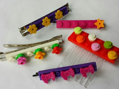Lego Hair Accessories DIY