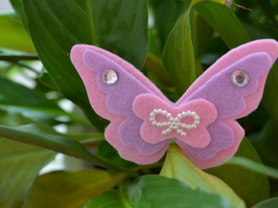Make a Simple Felt Butterfly - DIY Crafts - Guidecentral