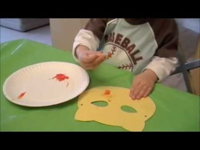 Make Art with Me: Cheetah Mask Mother Goose Time Preschool Curriculum