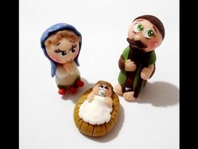 Manualidades Navideñas paso a paso. Handmade Christmas - Arts & Crafts porcelana fria