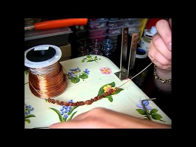 Memory Wire Necklace Tutorial