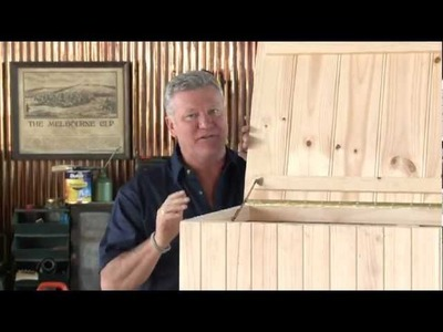 Mitre 10: How to build a storage chest presented by Scott Cam