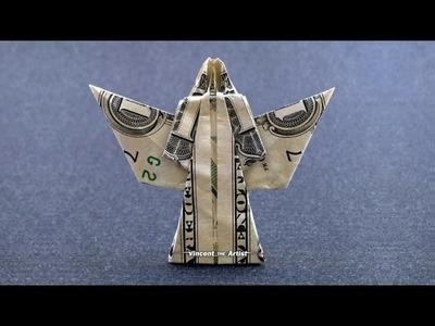 Money Origami ANGEL - Dollar Bill Art