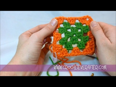 Motif of the Month Jan. 2013: Traditional Granny Square Workshop with Free Pattern