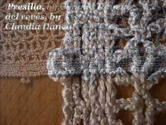Ojales y presillas al crochet