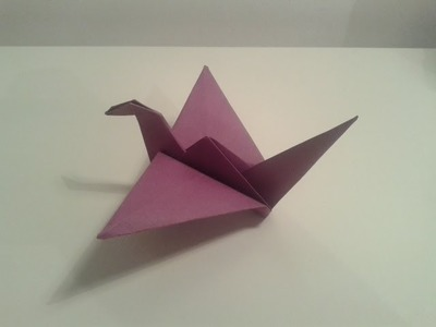 Origami Flapping Bird!