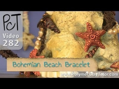 Polymer Clay Bohemian Beach Bracelet Tutorial (Intro)