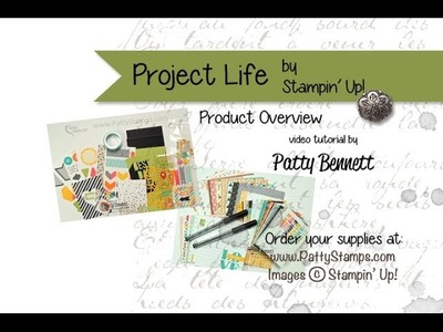 Project Life by Stampin' Up! Scrapbook Supplies