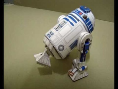 R2d2 moving papercraft