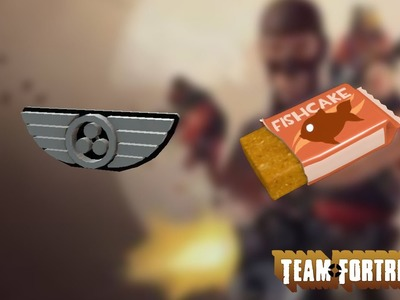[TEAM FORTRESS 2] Crafting SpaceChem Pin and Fishcake