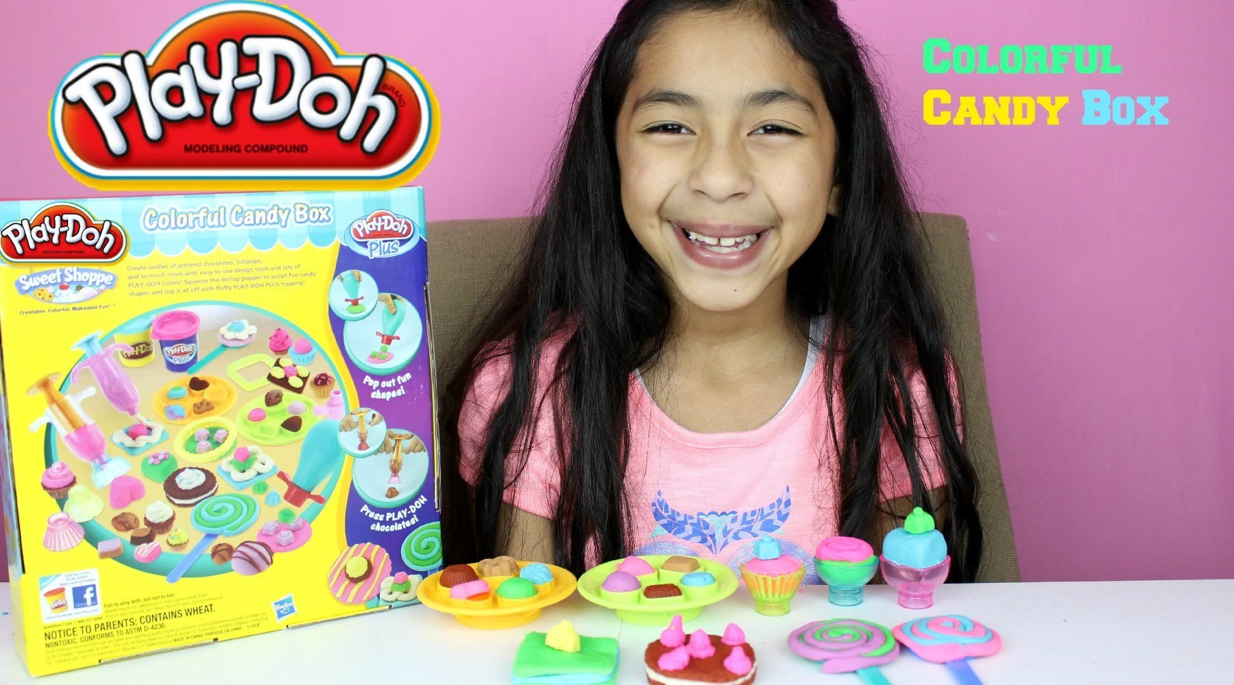 Tuesday Play Doh Colorful Candy Box Play Doh Candy Cookies Cupcakes Lollipops|B2cuteCupcakes