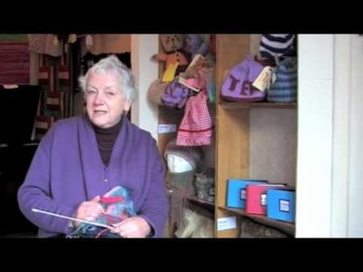 What is crazy knitting?