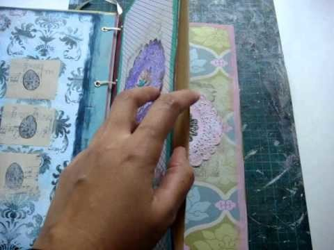 A pocket album for my collage and mixed media paintings (part 2)