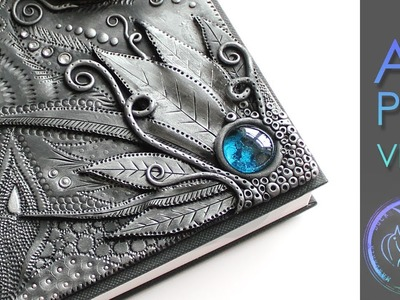 ANGEL WING - Polymer Clay Journal by Mandarin Duck