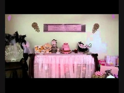 Baby Shower Pink and brown theme.wmv
