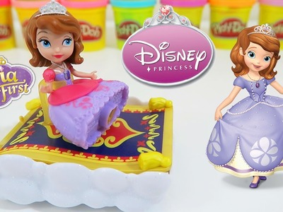 Disney Jr. Sofia the First Flying Carpet Ride Adventure Disney Princess Toy Unboxing & Review!