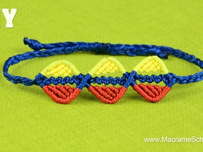 DIY Easy Triple Leaf Bracelet Tutorial