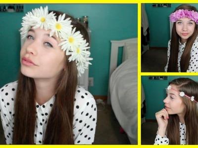 DIY: Flower Crown.Headband !
