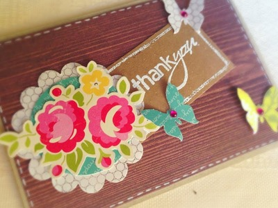 D.I.Y. Thank you card