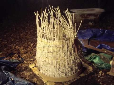 Green kiln newspaper basket and clay = 2000 degrees.m4v
