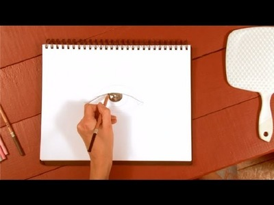 How to Draw a Human Eye in Colored Pencil : How to Draw with Colored Pencils