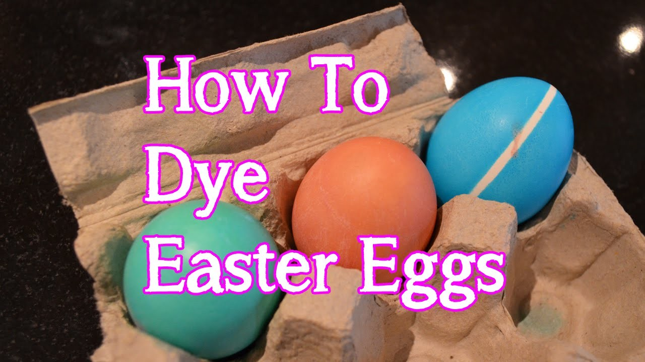 How to Dye Easter Eggs   Egg Decorating with Bethany G