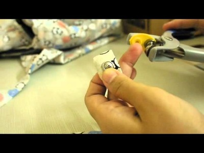 How to install snap prong button using dritz plier kit