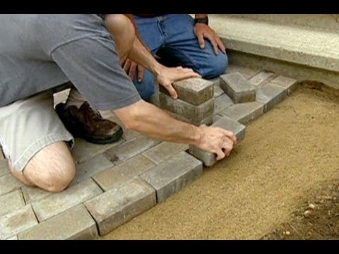 How to Lay a Brick Paver Walkway - This Old House