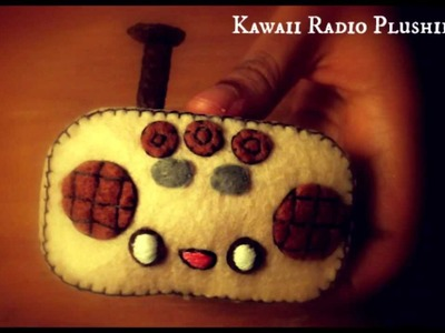 How To Make A Kawaii Radio Plushie Tutorial