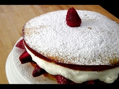 How to make a Strawberry Cake - by Laura Vitale - Laura in the Kitchen Ep. 103