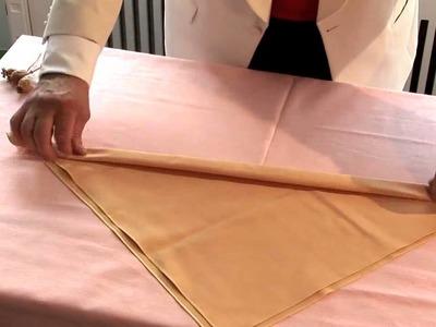 How To Make Christmas Napkins