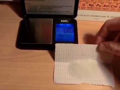 How to make precise scales from household materials. ( 0,1g )