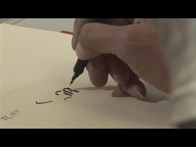 How To Use A Fountain Pen