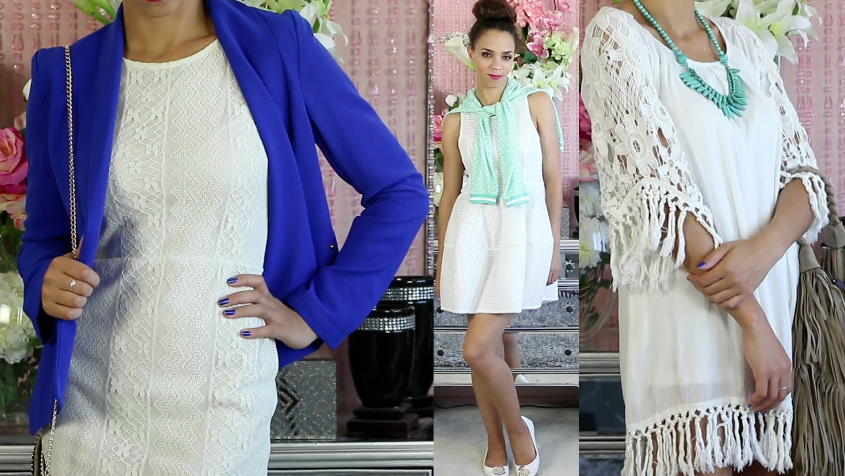 How to Wear a White Dress - Outfit Ideas & Summer Outfits!