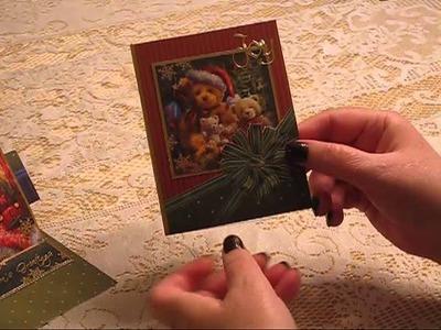 Hunkydory Under The Tree Christmas Card Making Kit