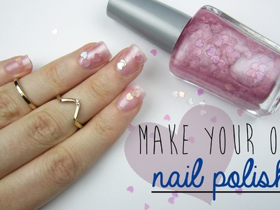 Make Your Own Nail Polish!